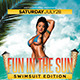 Fun In The Sun Party Flyer - GraphicRiver Item for Sale