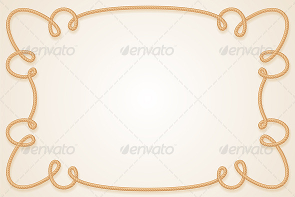 Rope Frame - Backgrounds Decorative