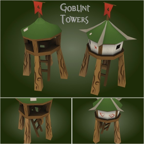 3DOcean Goblin Towers RTS 2392071