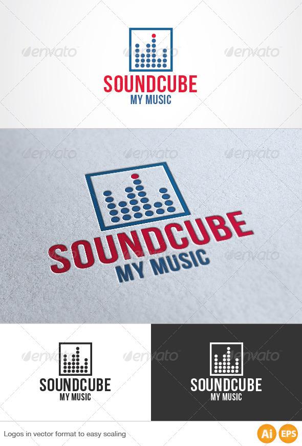 Sound Cube Logo - Symbols Logo Templates