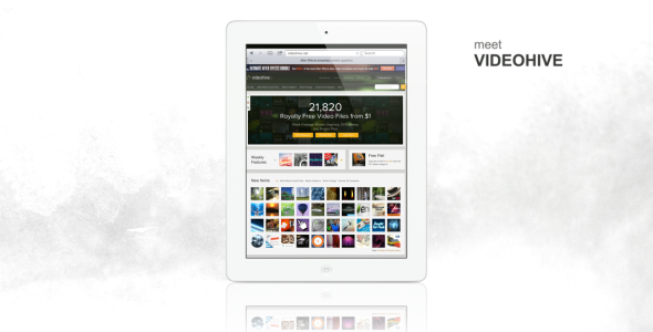 VideoHive Tablet Presentation 2392955