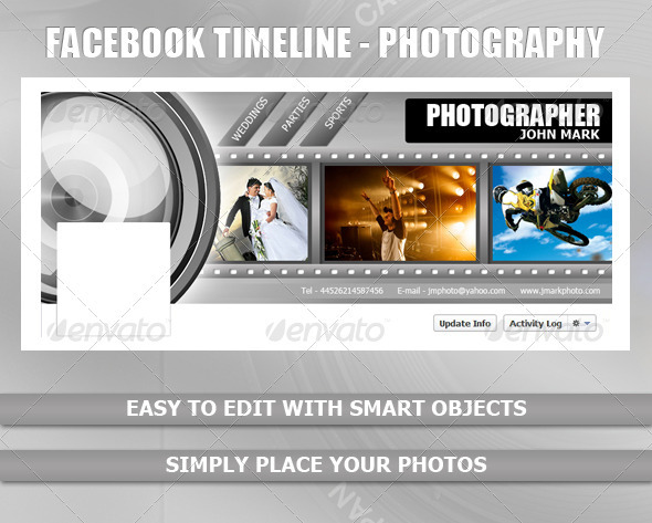GraphicRiver Facebook Timeline Photography 2392989