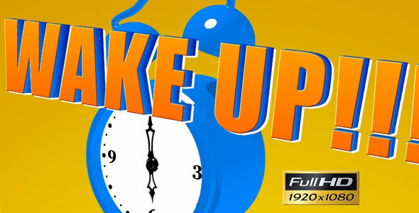 After Effects Project - VideoHive Cartoon Alarm Clock 2393406
