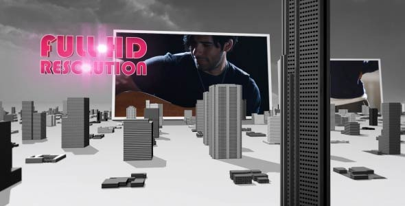 3D City Top Of The World