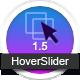 HoverSlider - en lydhør hover effekt slider - WorldWideScripts.net vare til salg