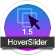 HoverSlider - una resposta libració slider efecte - WorldWideScripts.net article en venda