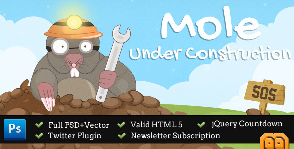 Mole Under Construction Page