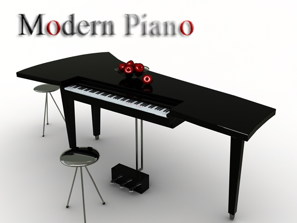 3DOcean Modern Piano 88275