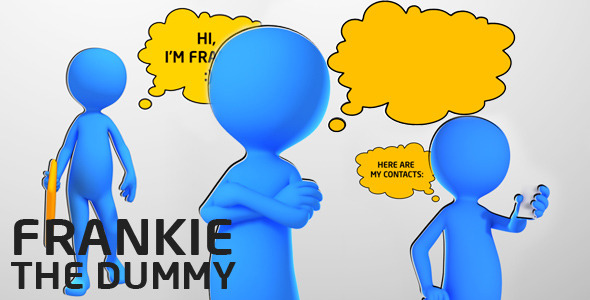 After Effects Project - VideoHive Frankie the Dummy 2383962