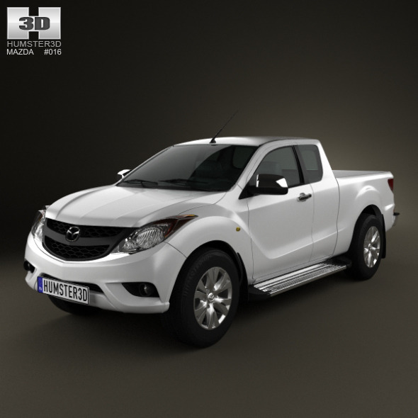 3DOcean Mazda BT-50 Crew Cab 2012 2396739