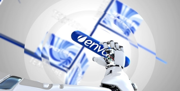 VideoHive Mechanical Hand and Capsule 2375414