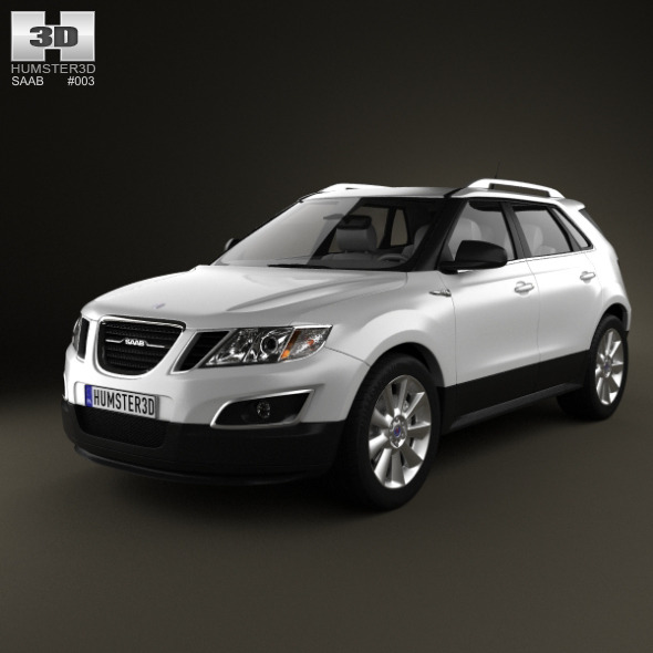 3DOcean Saab 9-4X 2012 2396891