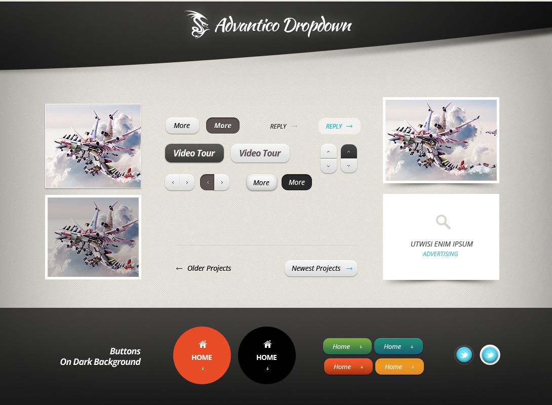 Advantico - Responsive Site Template