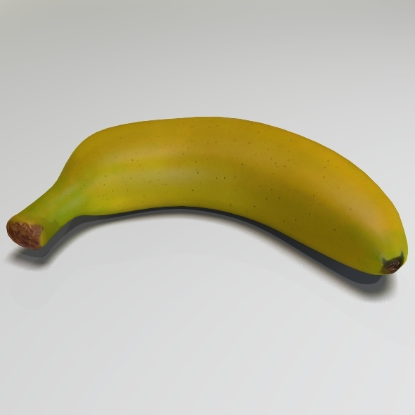Banana - 3DOcean Item for Sale