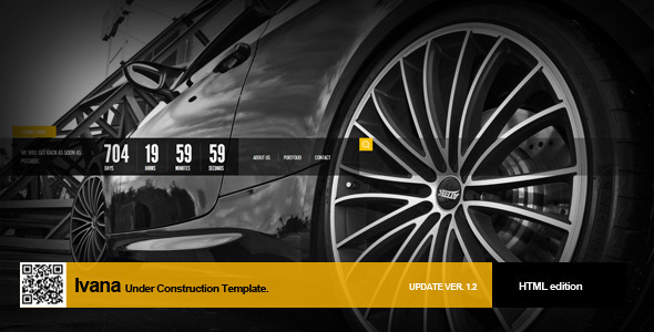 ThemeForest Ivana Under Construction Template 2294861