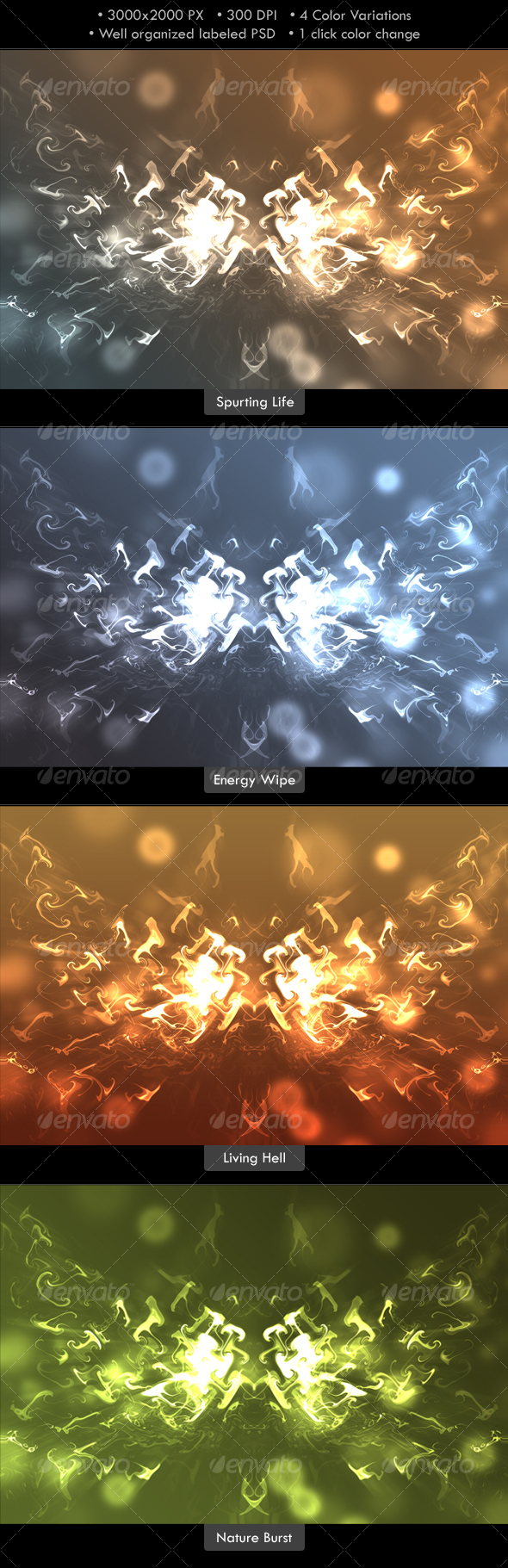 GraphicRiver Abstract Energy Burst Background 88377