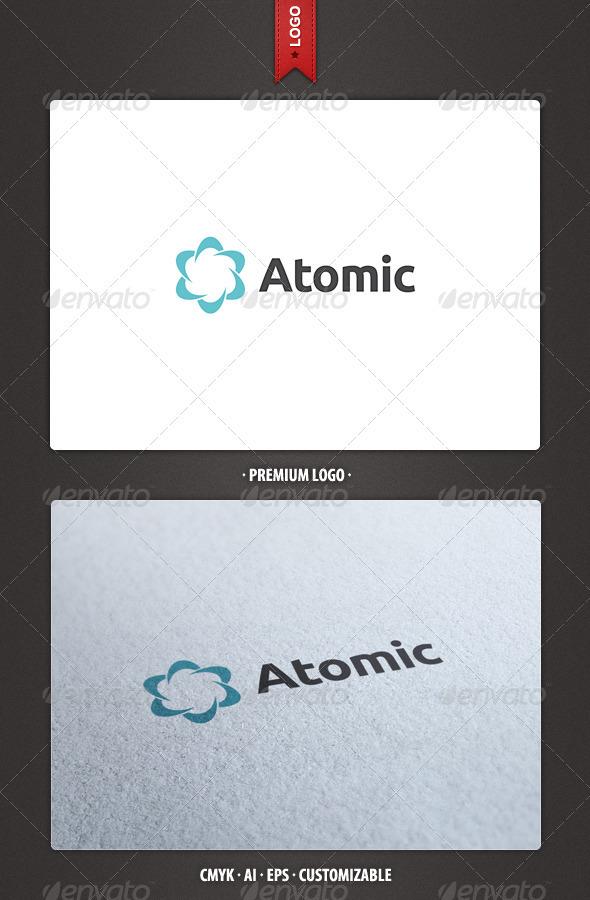 Atomic Logo Template