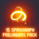 15 Spirograph Preloaders Pack - ActiveDen Item for Sale