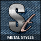 Metal styles collection - GraphicRiver Item for Sale