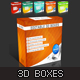 3D Boxes - GraphicRiver Item for Sale