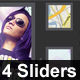 Slider Glory - 4 Modern Portfolio Sliders - GraphicRiver Item for Sale