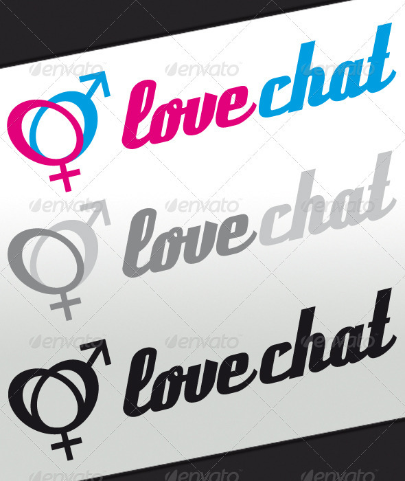 Love Chat Logo