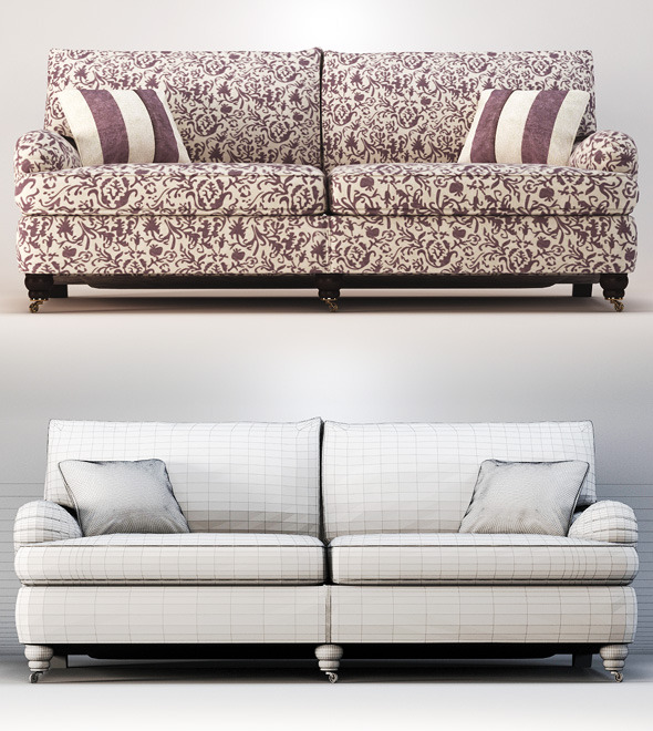 3DOcean Quality 3dmodel of sofa Lansdowne Duresta 2402947