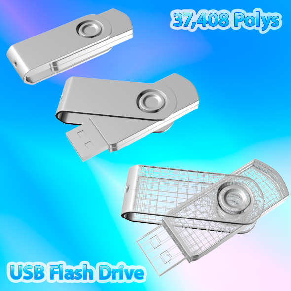 3DOcean USB Flash Drive 03 2398022