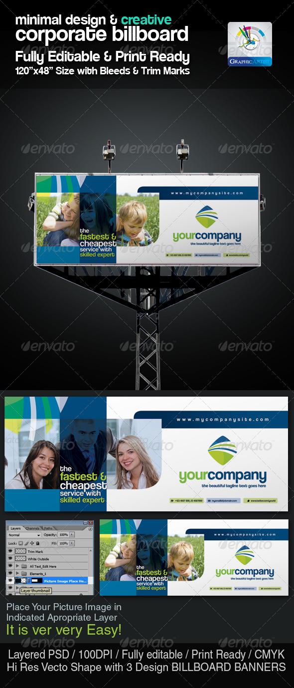 GraphicRiver Minimal & Creative Corporate Billboard 2404652