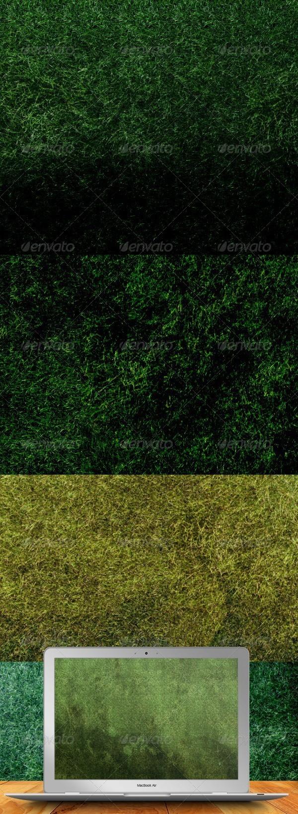 Grunge Grass Textures - Nature Textures