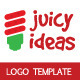 Juice Ideas Logo Template - GraphicRiver Item for Sale