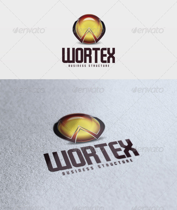 Wortex Logo - 3d Abstract