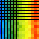 Pixel rainbow background. Multicolor. - ActiveDen Item for Sale