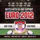Euro 2012 Soccer Flyer - GraphicRiver Item for Sale