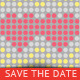 Wedding - Save The Date - Love Code