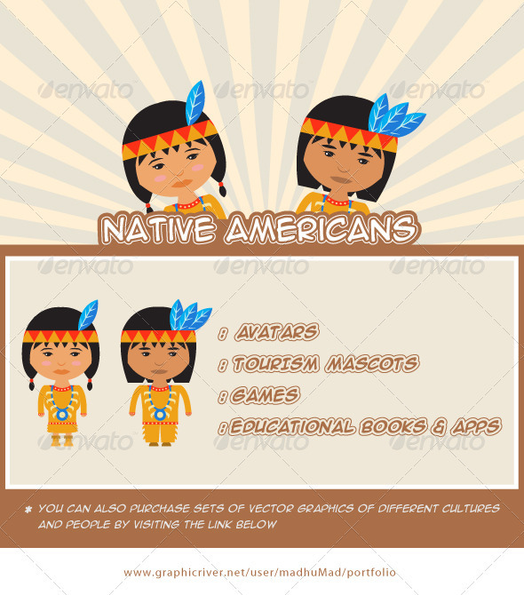 Native Americans - People Characters