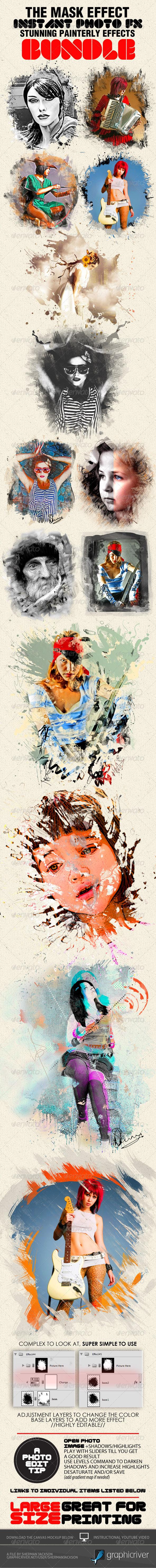 GraphicRiver Photo-Fx-Auto Mask Premium Bundle 1732374