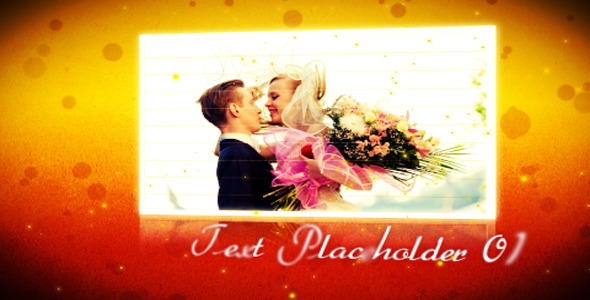 After Effects Project - VideoHive Wedding Album 2386842