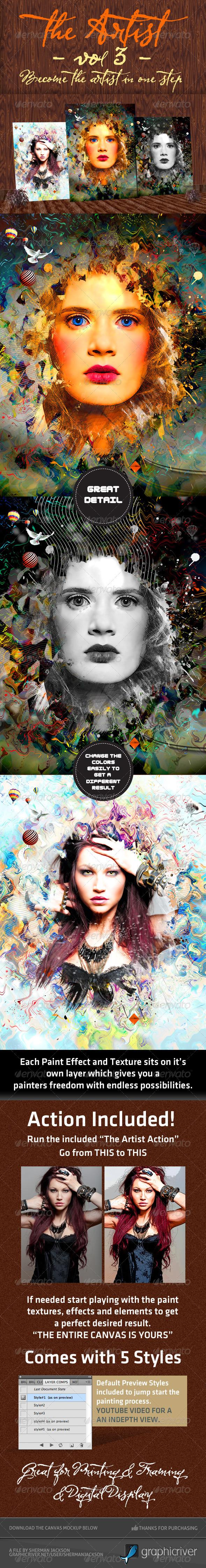 The Artist - Volume3 - Artistic Photo Templates