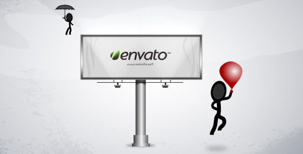 After Effects Project - VideoHive Billboard message Inkman 271430