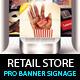 Retail Store Billboard & Outdoor Banner Signage