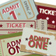 Admit-One-Tickets - GraphicRiver Item for Sale