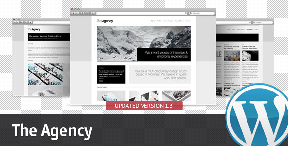 ThemeForest The Agency for WordPress 236994