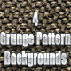 4 Grunge Pattern Backgrounds - GraphicRiver Item for Sale