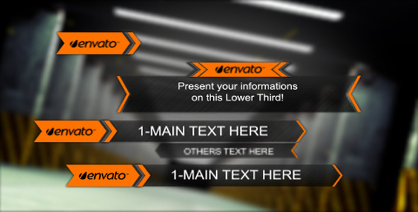 After Effects Project - VideoHive Lower Third Pack 2412992