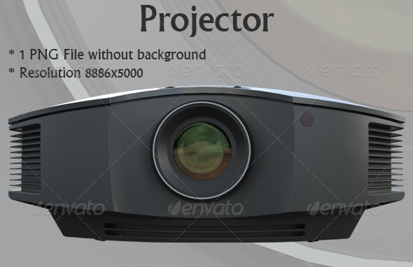 Projector - Technology 3D Renders