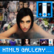 HTML5 gallery with thumbs.