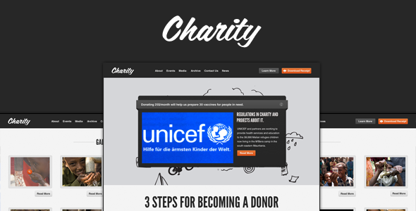 Charity - Nonprofit/NGO Template