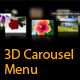 Lively 3D Carousel Menu - ActiveDen Item for Sale