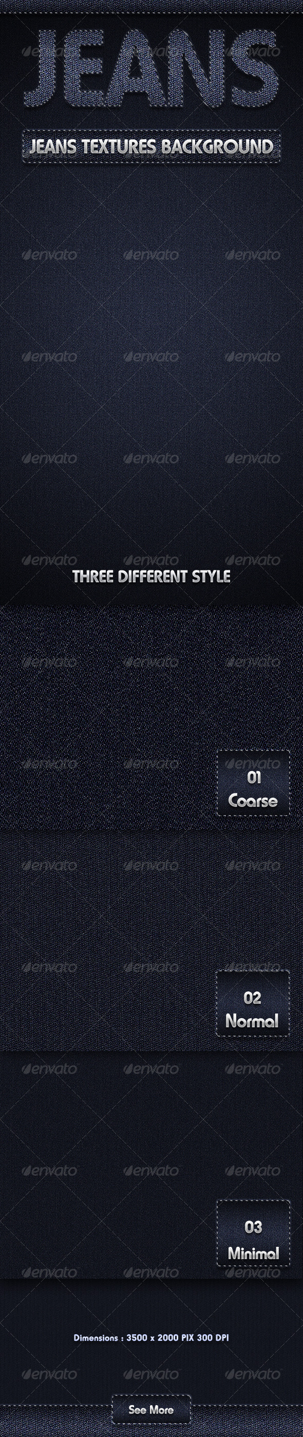 Jeans Textures Background - Patterns Backgrounds